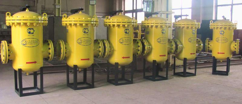 Фильтры газовые, выпускаемые промышленностью